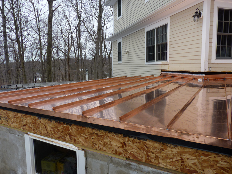 Image of: Ikea Copper Roofing Sheet Designs Ideas