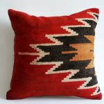 Ikea Red Decorative Pillows