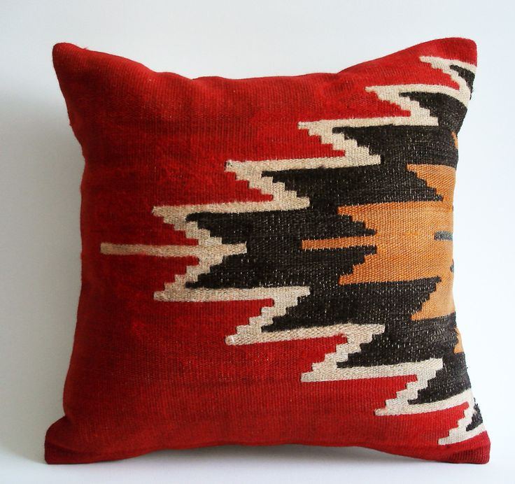 Image of: Ikea Red Decorative Pillows