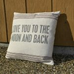 Ikea To The Moon And Back Pillow