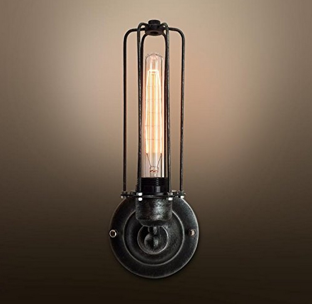 Image of: Image Cage Sconce