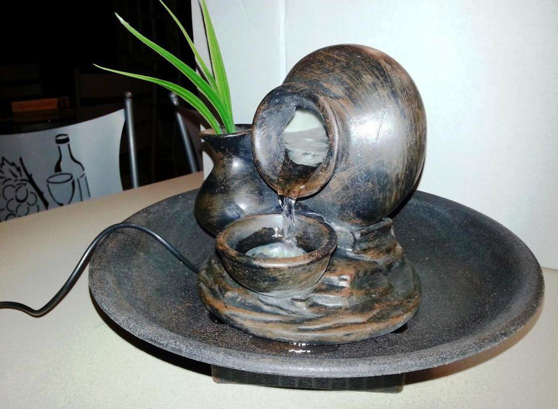Image of: Image DIY Tabletop Fountain