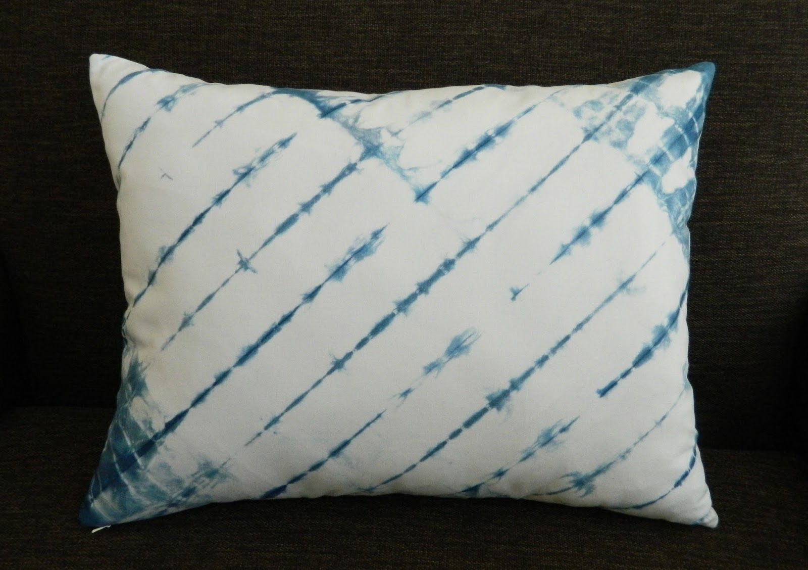 Image of: Indigo Shibori Pillows