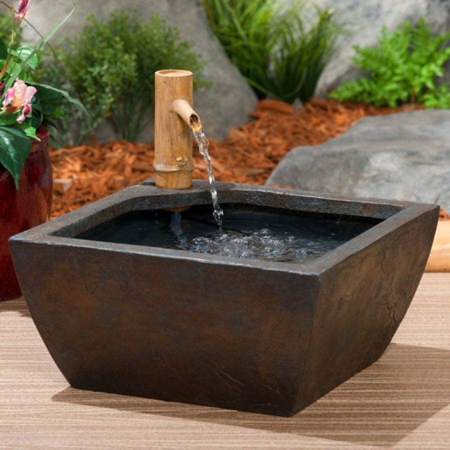 Image of: Indoor Disappearing Fountain Basin