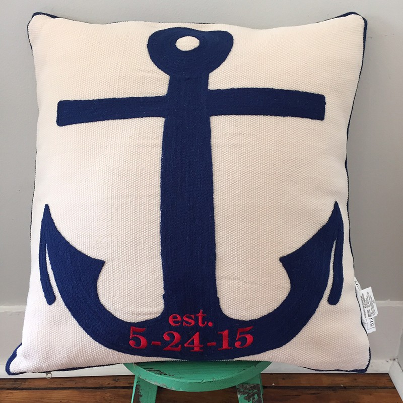 Image of: Indoor Navy Throw Pillows
