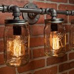 Industrial Bathroom Sconce Style