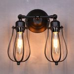 Industrial Black Sconce Lights