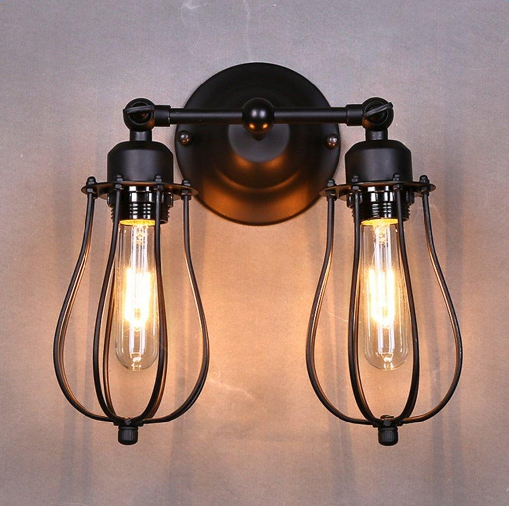 Image of: Industrial Black Sconce Lights