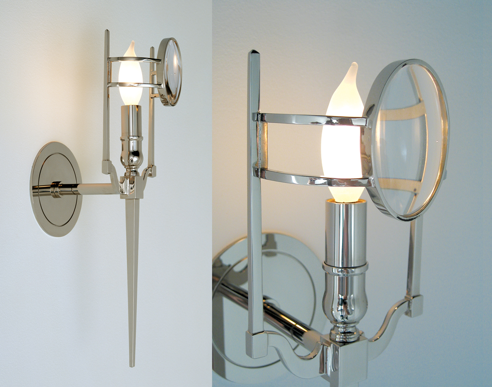 Image of: Industrial Sconce Lighting Decoration