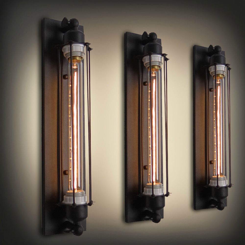 Image of: Industrial Wall Sconce Light Home