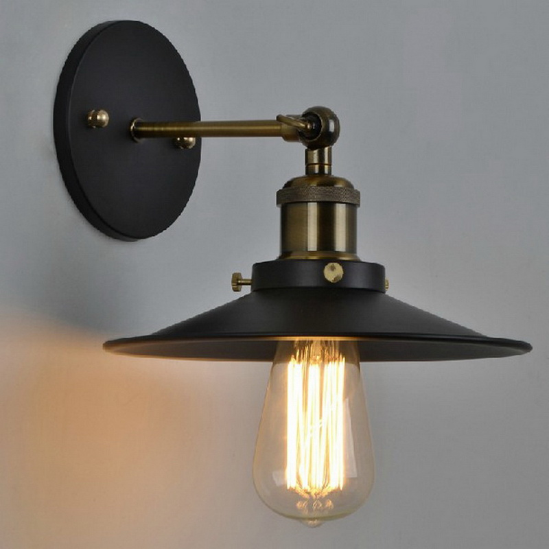 Image of: Industrial Wall Sconce Light Ideas