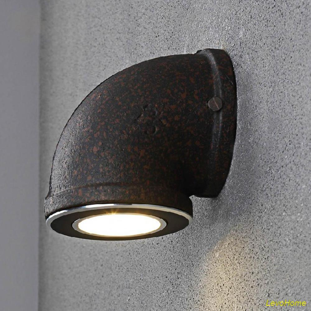 Image of: Industrial Wall Sconce Light Models