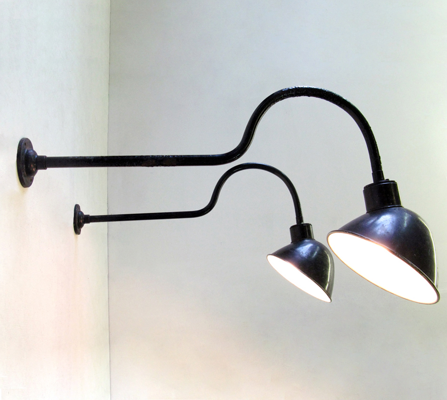 Image of: Industrial Wall Sconce Light Type