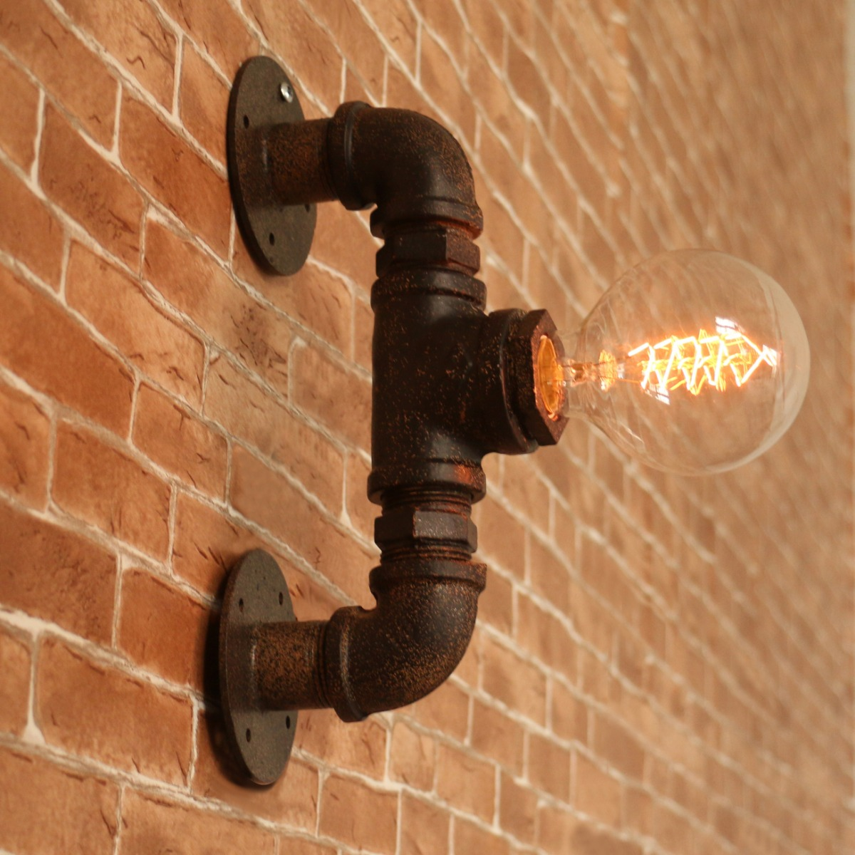 Image of: Industrial Wall Sconces Bulb