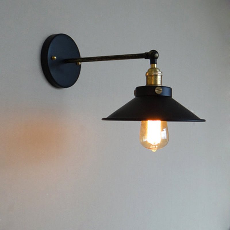 Image of: Industrial Wall Sconces Lamps