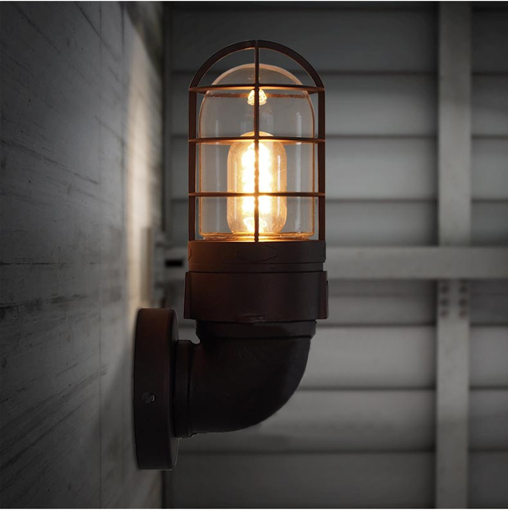 Image of: Industrial Wall Sconces Lighting