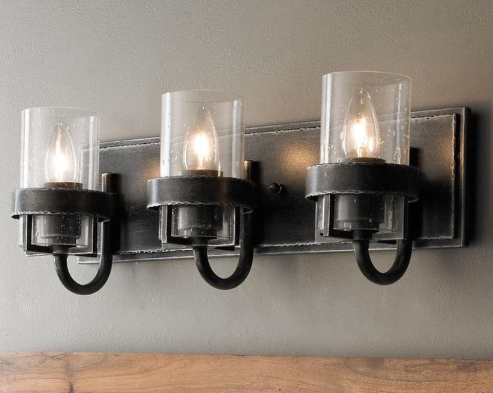 Image of: Industrial Wall Sconces Style
