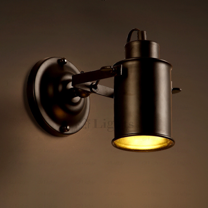 Image of: Industrial Wall Sconces Type