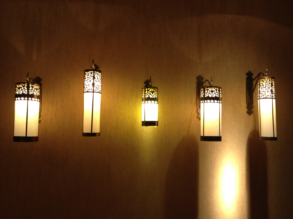 Image of: Inspiring Battery Powered Wall Sconces