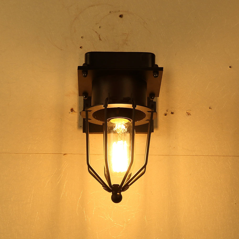 Iron Cage Wall Sconce