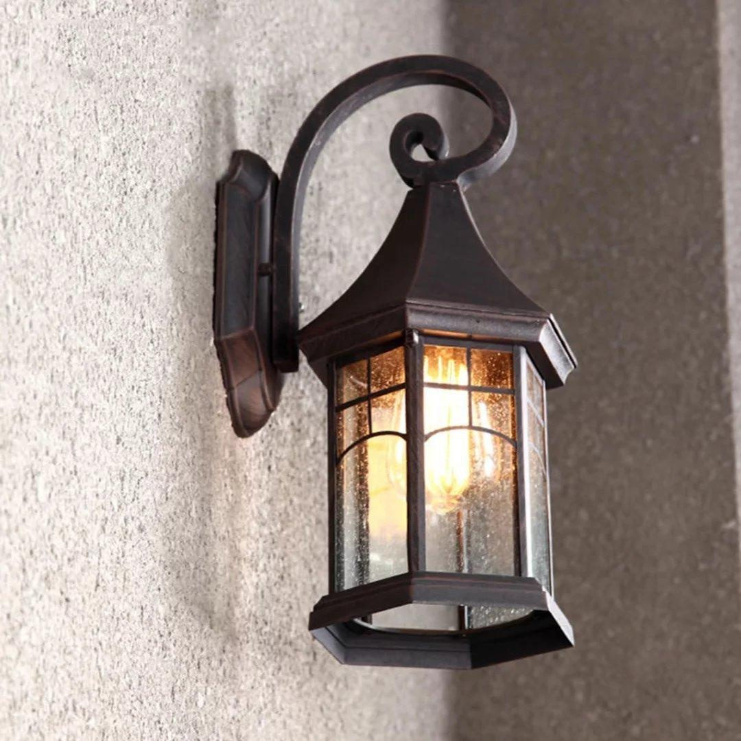 Image of: Iron Industrial Wall Sconces
