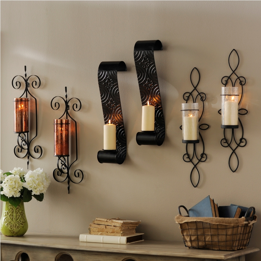 Image of: Kirklands Sconces Candle