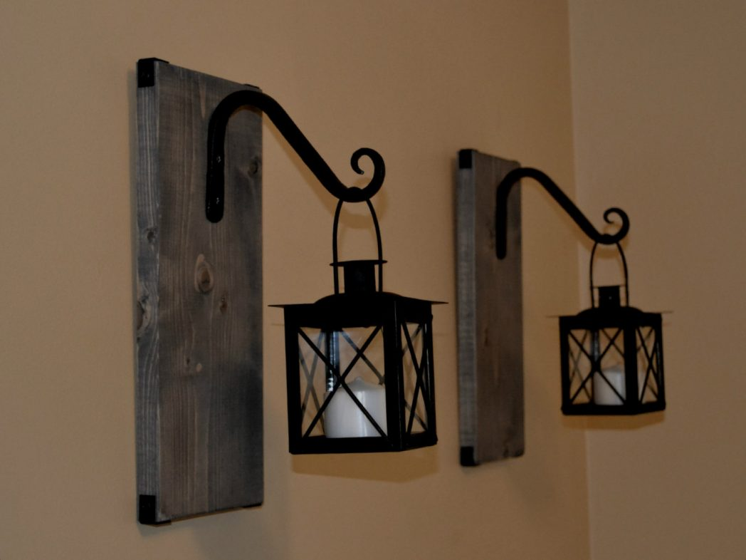 Image of: Lantern Sconce Indoor Images