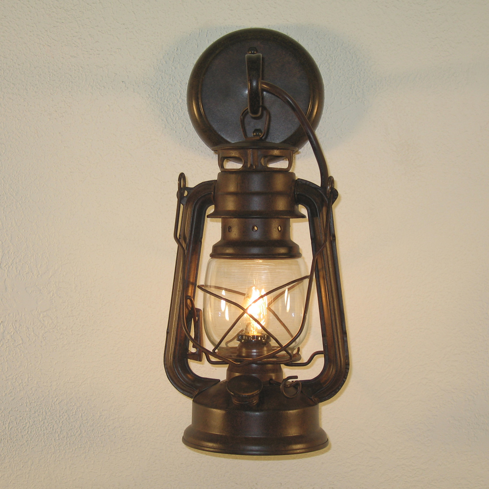 Image of: Lantern Sconce Indoor