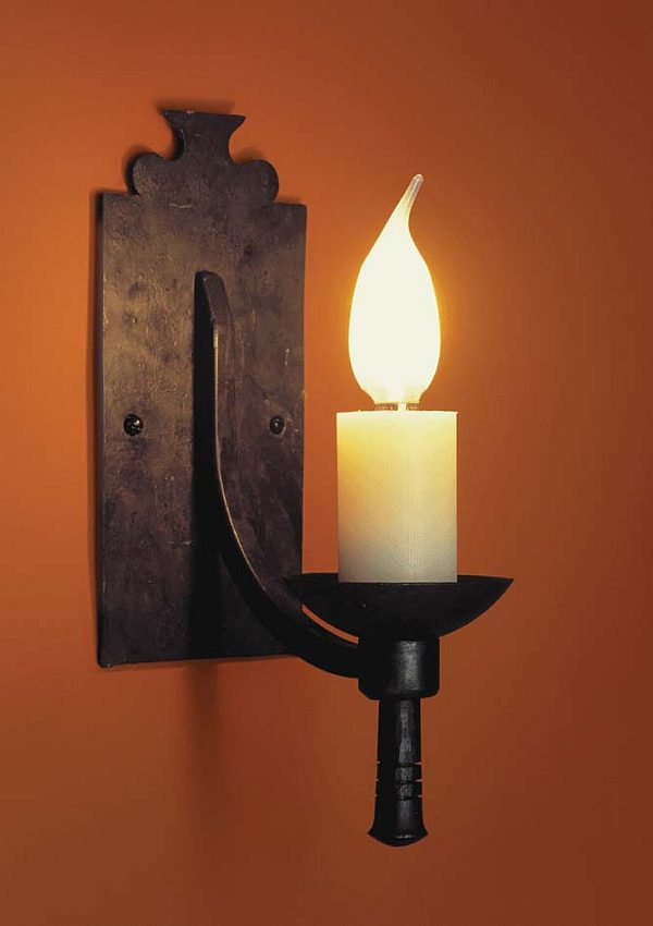 Image of: Large Candle Sconces for Wall
