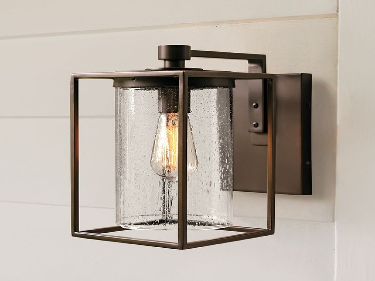 Image of: Large Candle Wall Sconces Bathroom