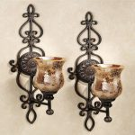 Large Candle Wall Sconces Battery Operated
