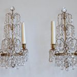 Large Candle Wall Sconces Bronze