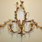 Large Candle Wall Sconces with Candles