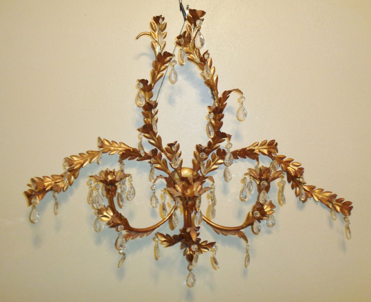 Image of: Large Candle Wall Sconces with Candles