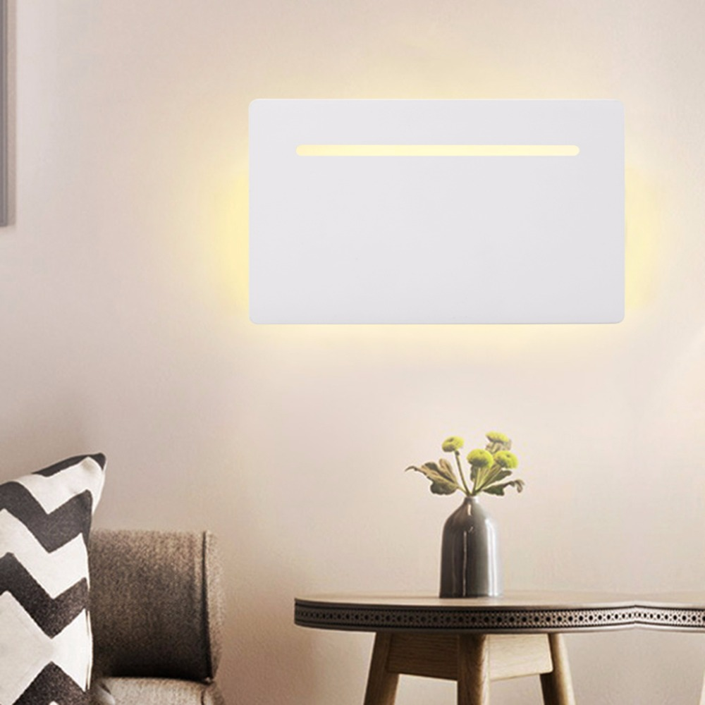 Image of: Large Flat Wall Sconce