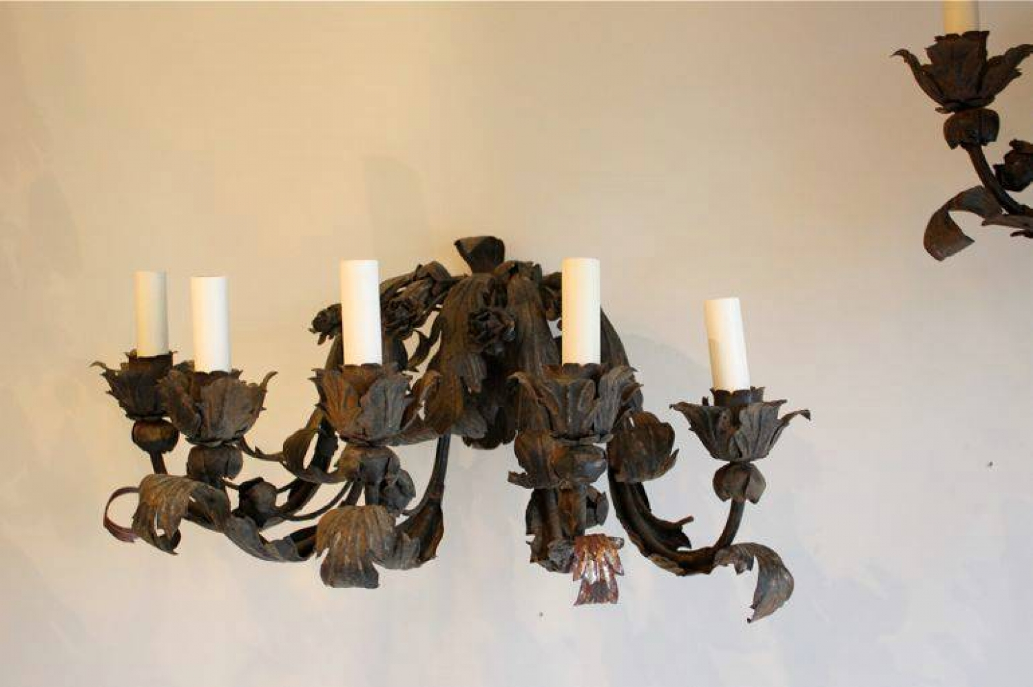 Image of: Large Sconces Wall Decor