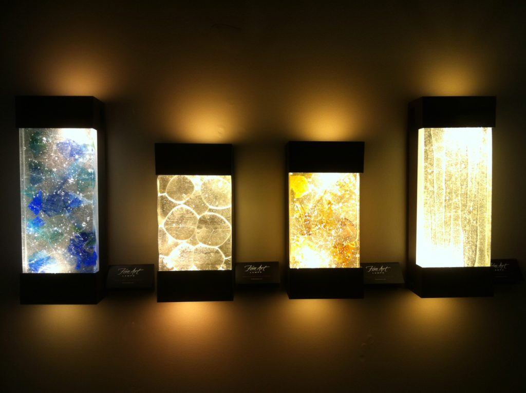 Image of: Led Outdoor Wall Sconce Colors