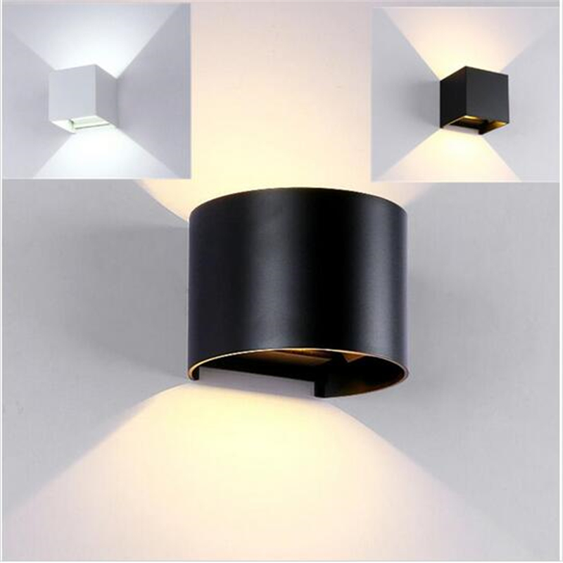 Image of: Led Outdoor Wall Sconce Shapes