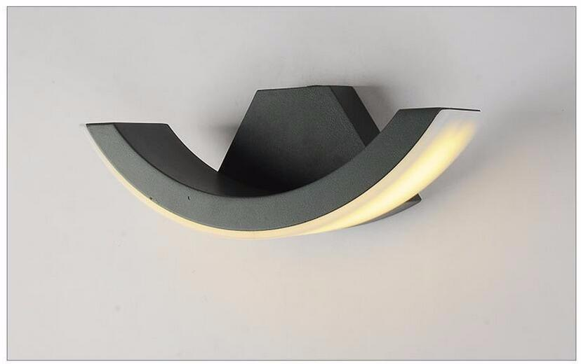 Image of: Led Sconce Indoor Shapes