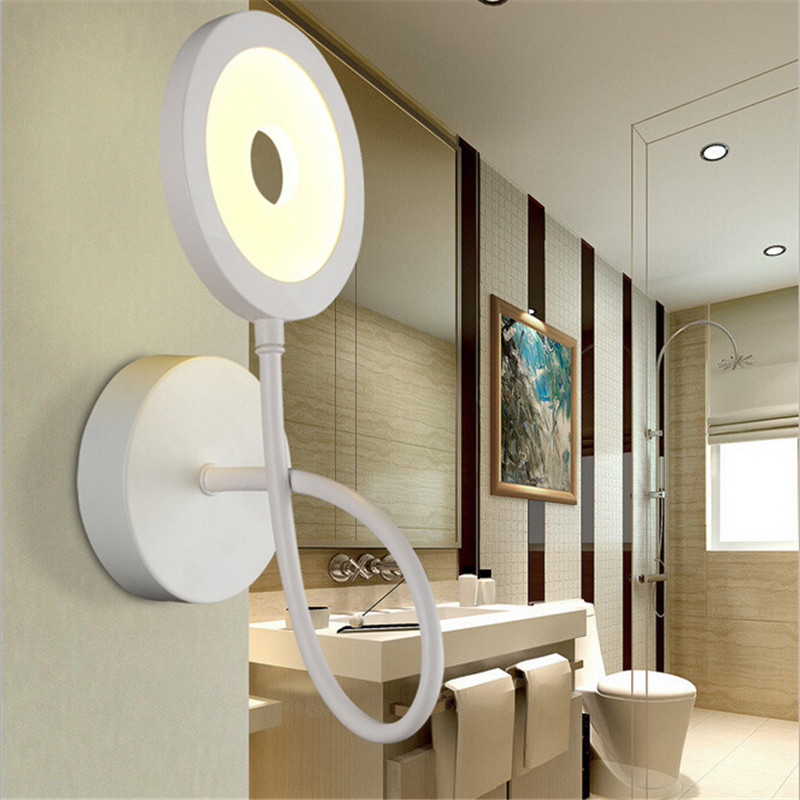 Image of: Led Wall Sconces Indoor Aluminum