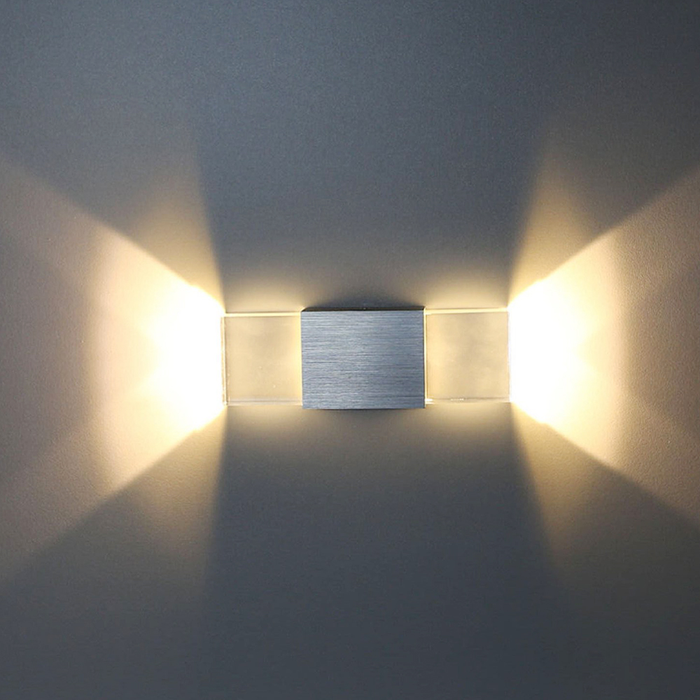 Image of: Led Wall Sconces Indoor Bedroom