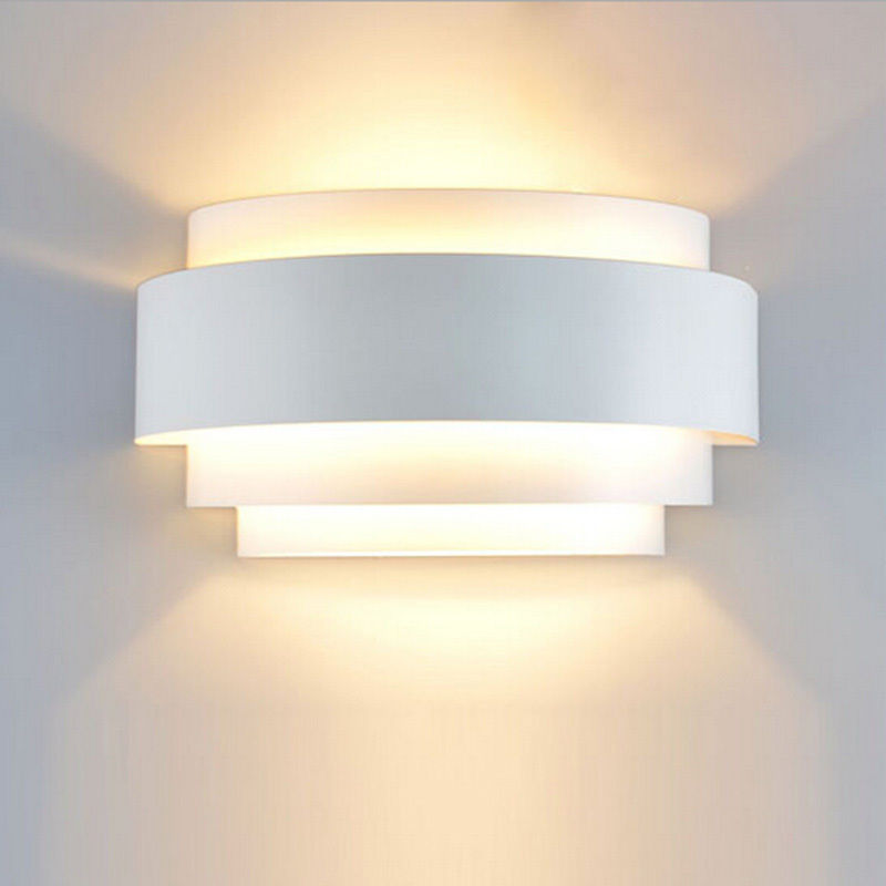 Image of: Led Wall Sconces Indoor Up and Down