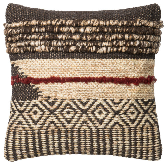 Image of: Loloi Pillows Brown