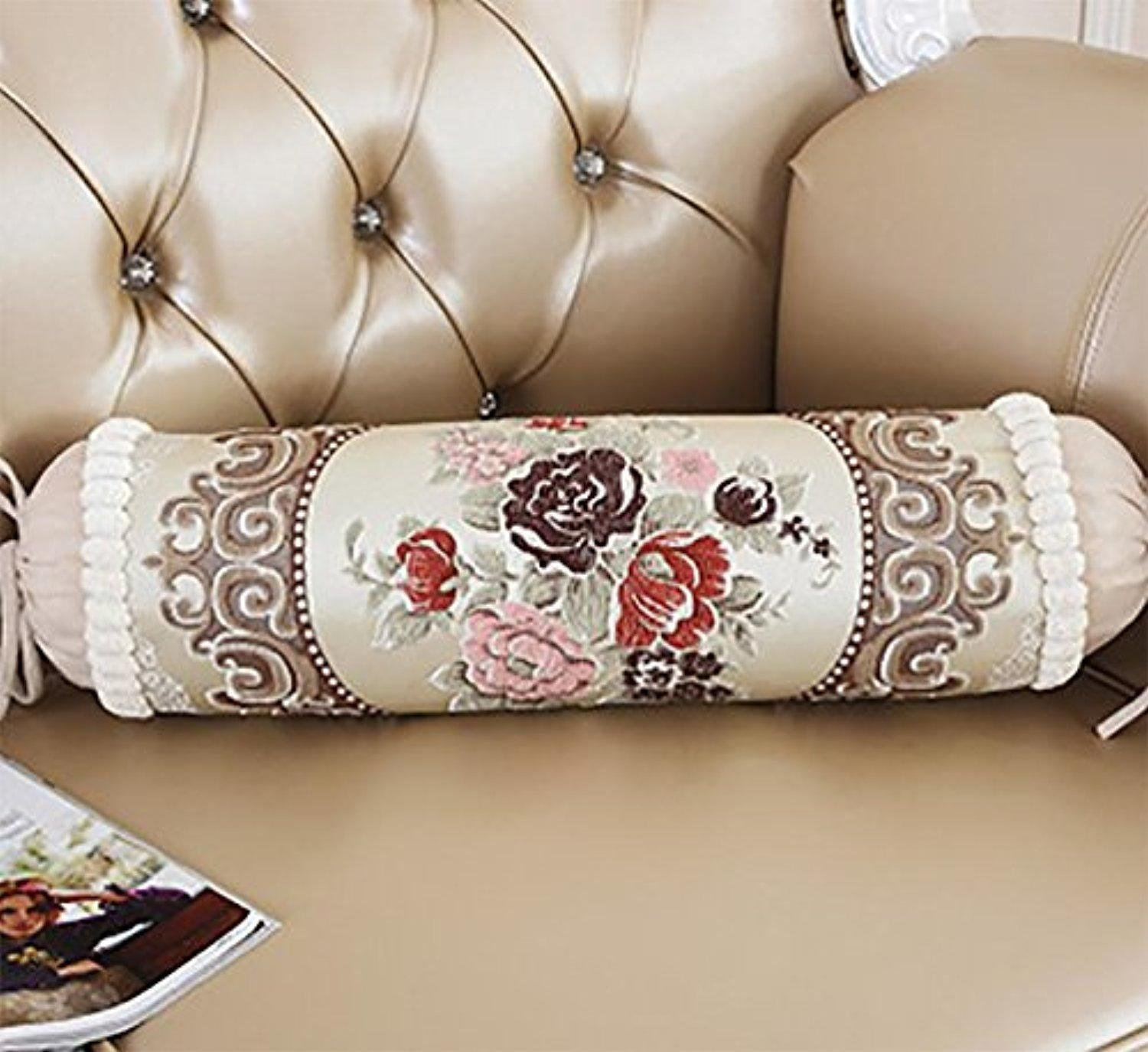 Image of: Long Couch Pillows Ideas