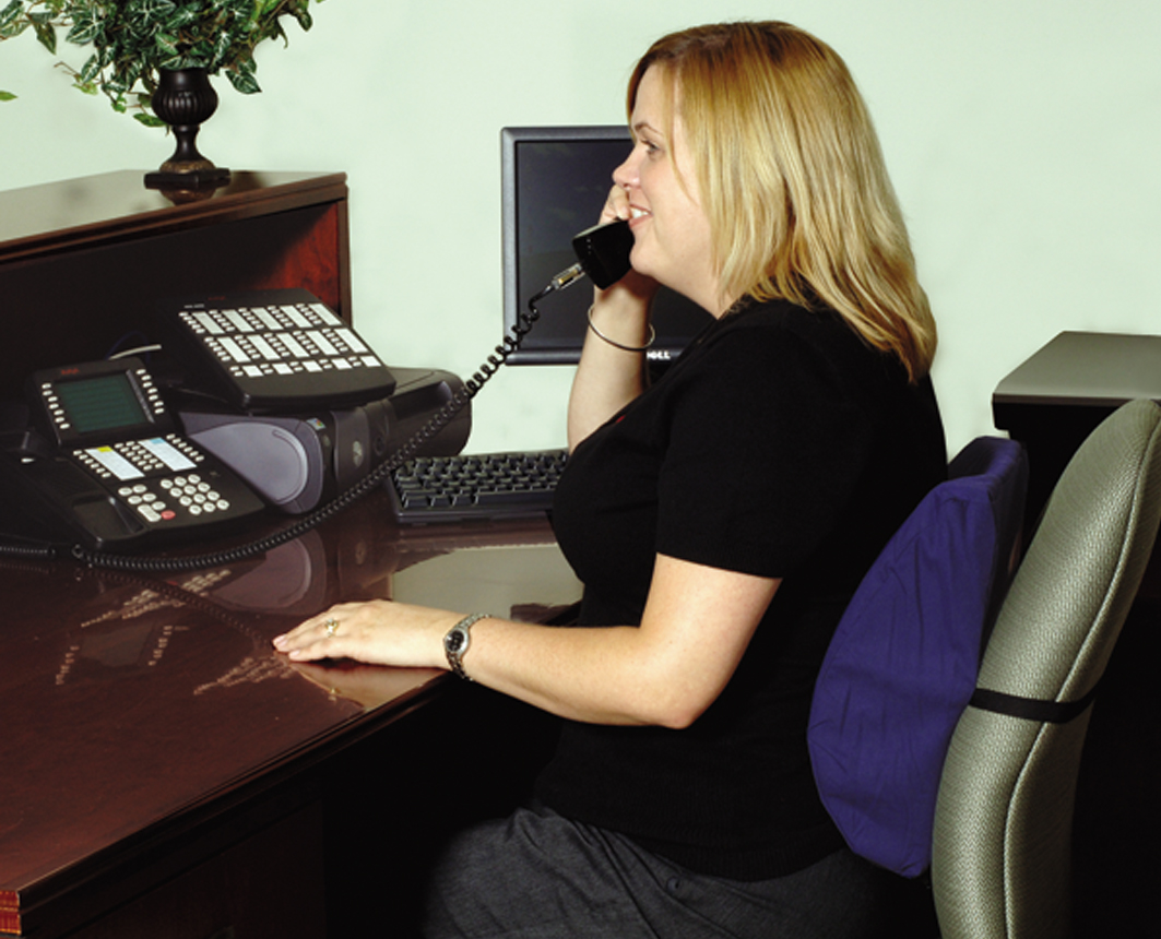 Image of: Lumbar Support Pillow For Office Chairs