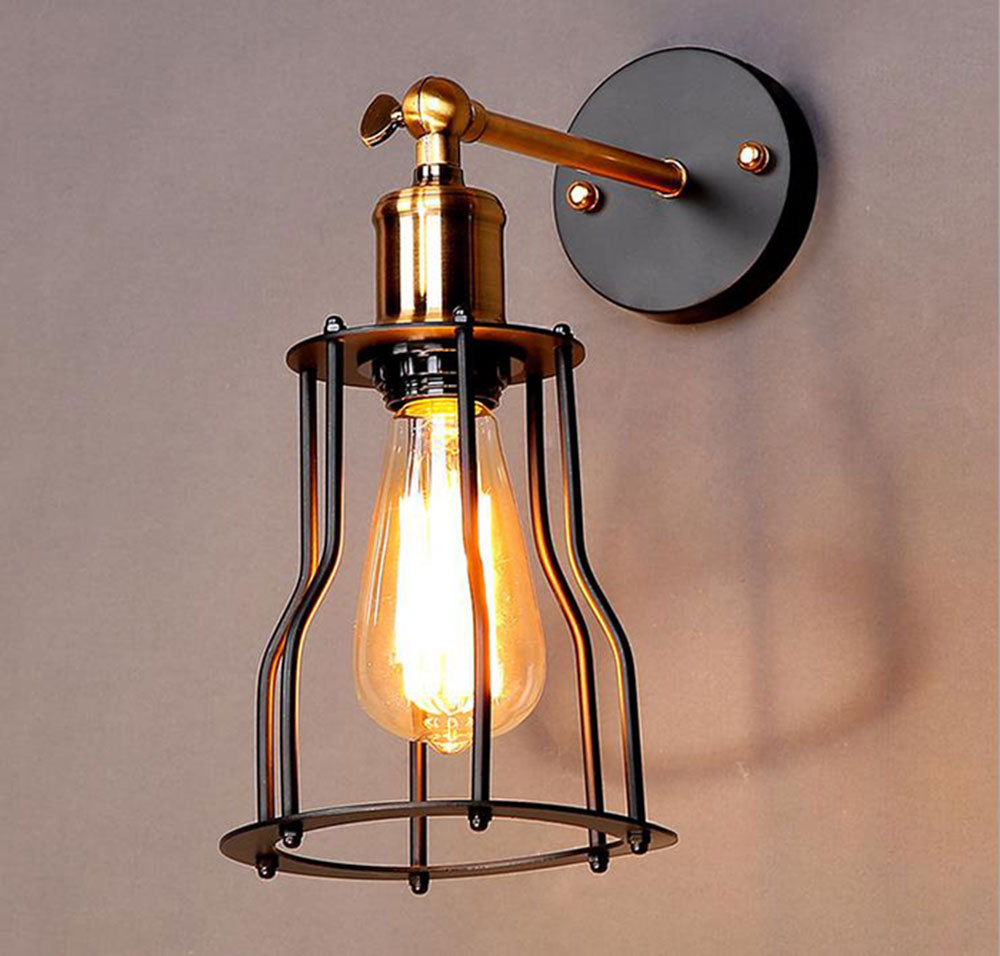 Image of: Luxury Cage Sconce