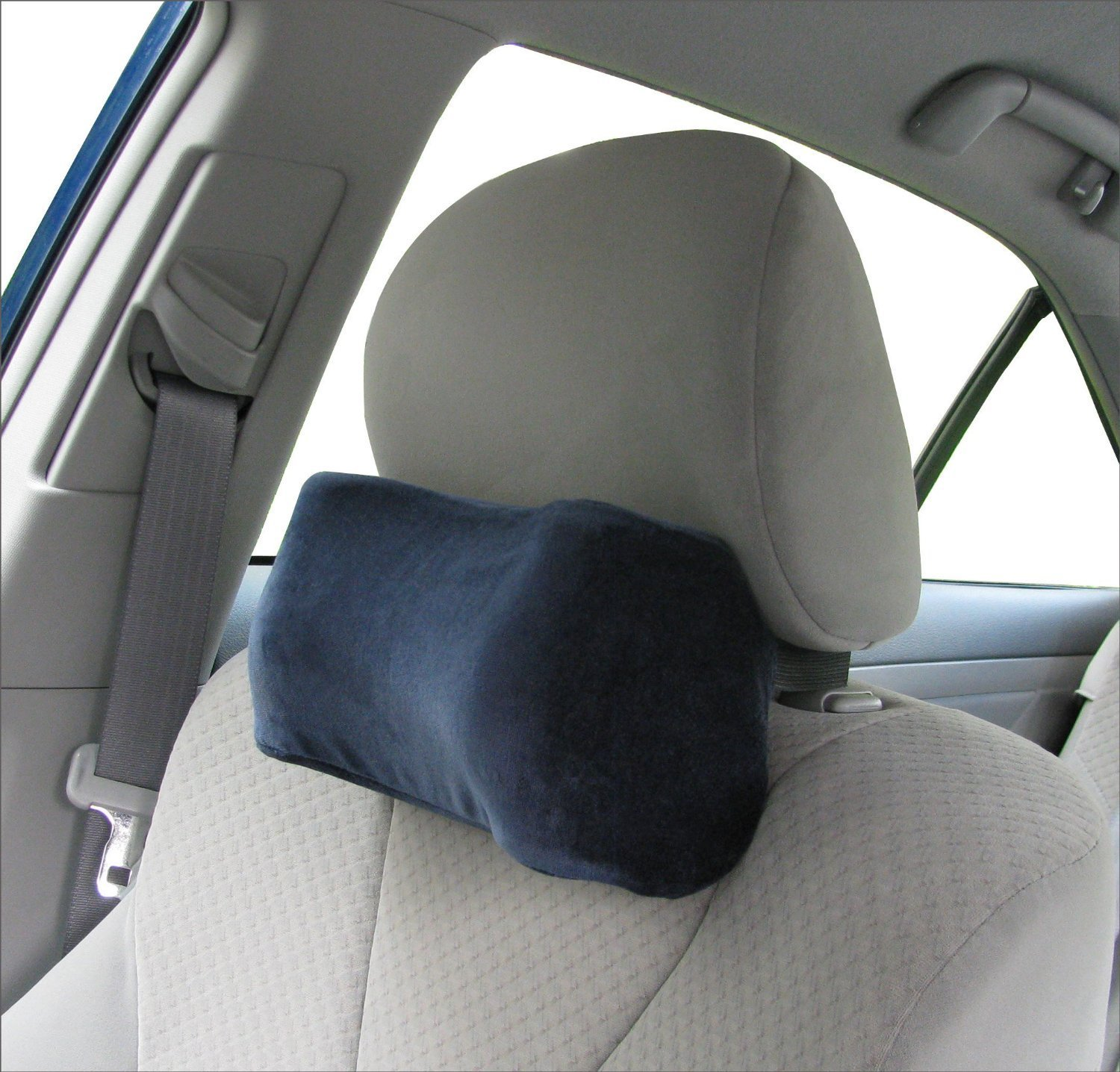 Image of: Memory Foam Neck Pillow Car