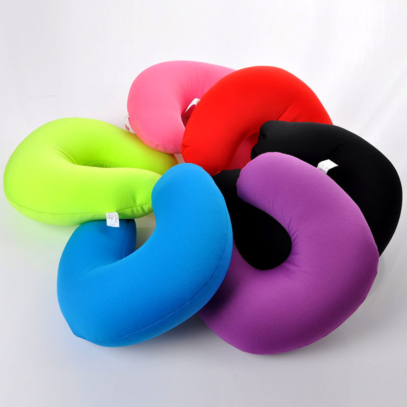 Image of: Memory Foam Neck Pillow Colors Options