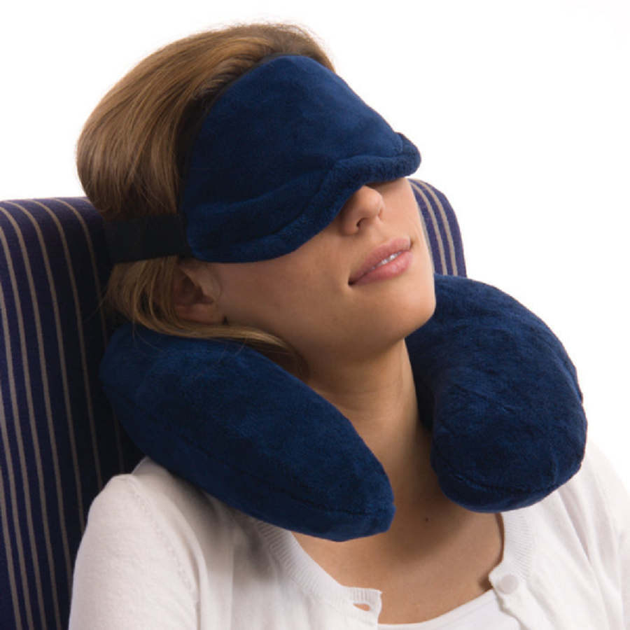 Image of: Memory Foam Travel Pillow Comfort