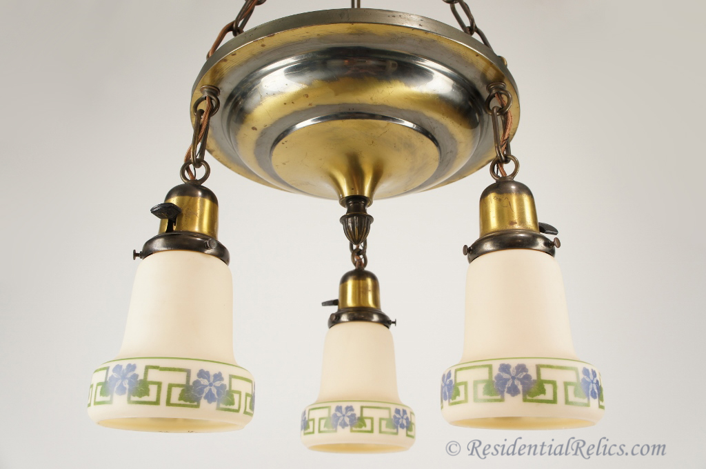 Image of: Mercury Glass Sconce Shades